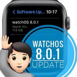 watchOS 8.0.1 update